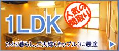 渋谷の1LDKの賃貸情報はこちらから